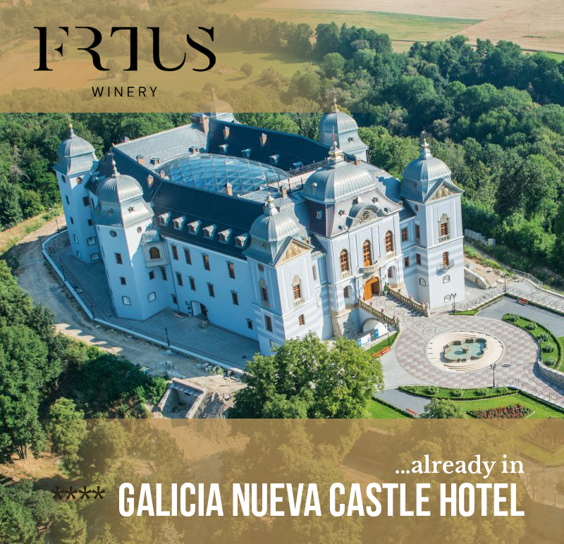 Frtus winery already in Galicia Nueva Castle Hotel ****