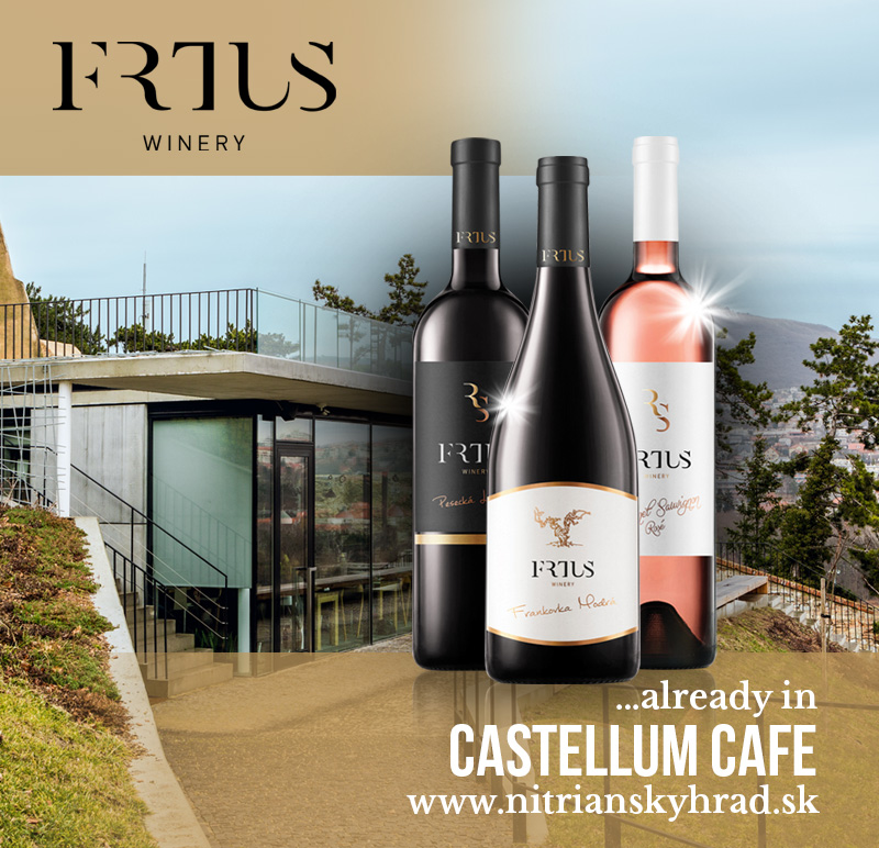 FRTUS WINERY already in Castellum Cafe