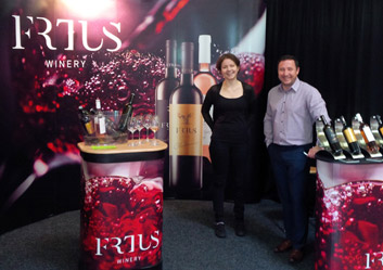 Frtus Winery at the Motorcycle & Boat Show 2016